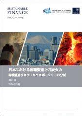 日本における座礁資産と石炭火力 環境関連リスク・エクスポージャーの分析(日本語訳)