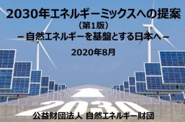 【Report】Proposal for the 2030 Energy Mix (First Edition)