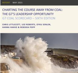 【レポート】E3G報告書『G7石炭スコアカード2021年:脱石炭の道筋を明示、G7のリーダーシップを発揮する機会』発表