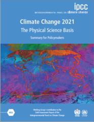 【レポート】IPCC第6次評価報告書 第1作業部会報告書(自然科学的根拠)発表