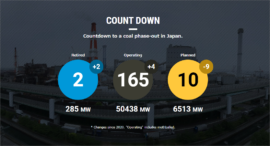 【Database Update】Latest status of coal-fired power plants (October 01, 2021)